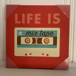 Hometrends Life Quote 10 * 10 inch Wall Art NWT